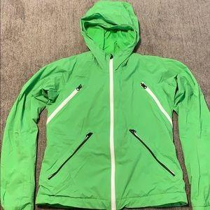 Green Lululemon jacket
